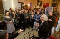 Arteria 2013, at Ognisko Polskie, Opening Day, photo: Ryszard Szydlo